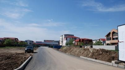 Vedere teren viitor street mall
